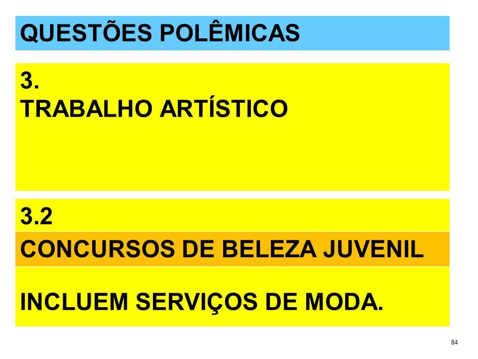 INCLUEM SERVIÇOS DE MODA. CONCURSOS DE BELEZA JUVENIL