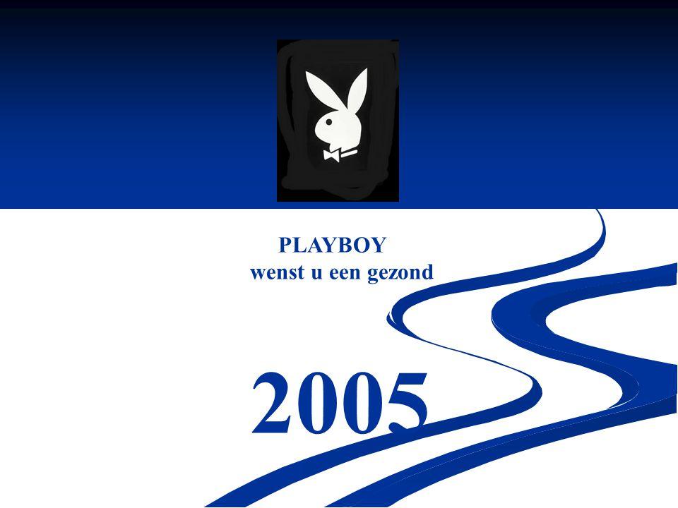 PLAYBOY wenst u een gezond 2005