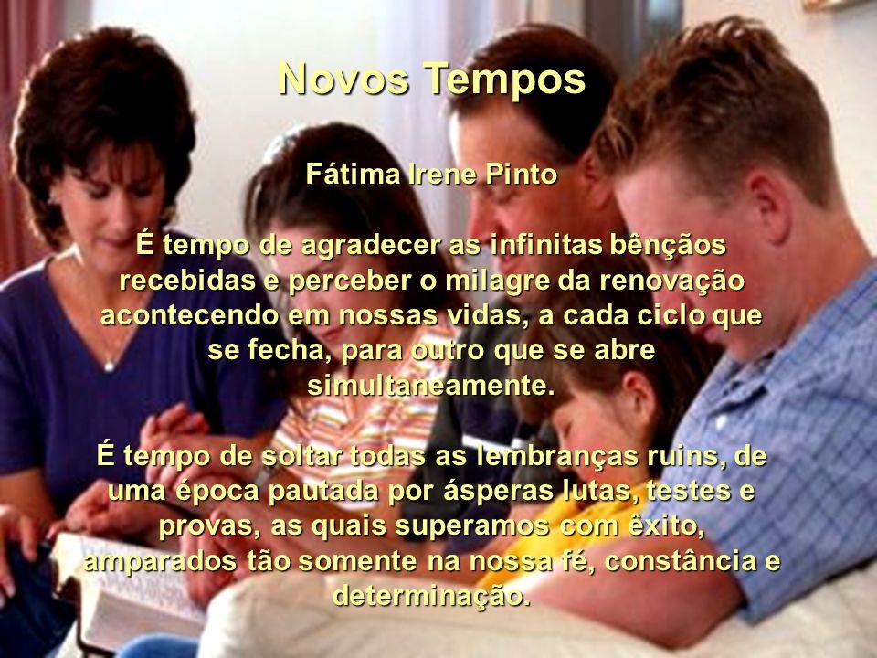 Novos Tempos Fátima Irene Pinto