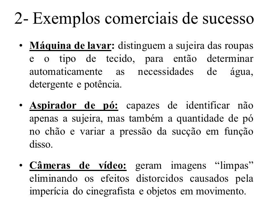 2- Exemplos comerciais de sucesso