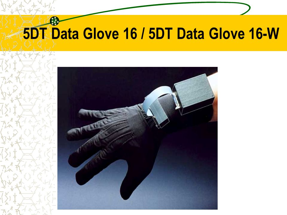 5DT Data Glove 16 / 5DT Data Glove 16-W