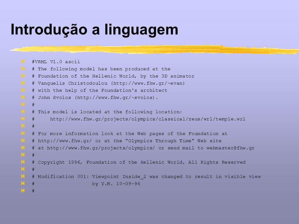 Introdução a linguagem