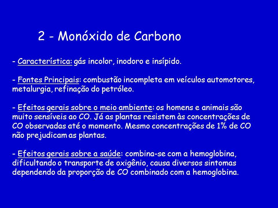 2 - Monóxido de Carbono