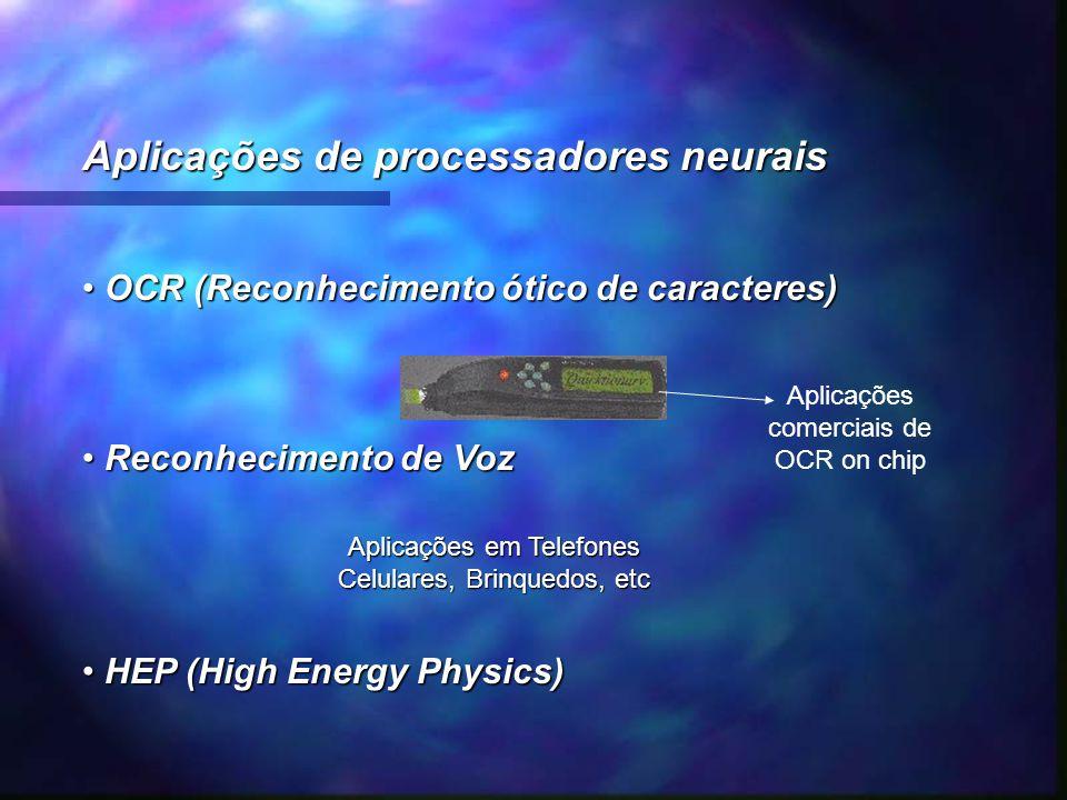 Aplicações de processadores neurais