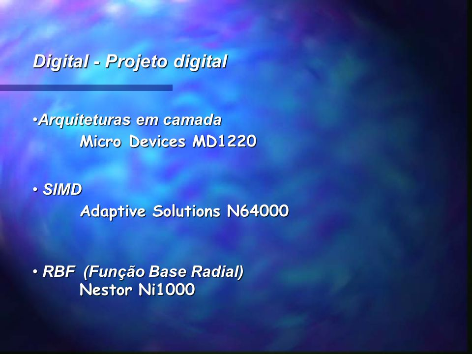 Digital - Projeto digital