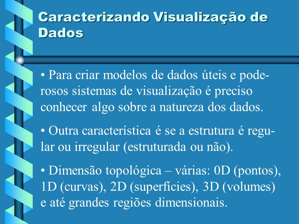 Caracterizando Visualização de Dados