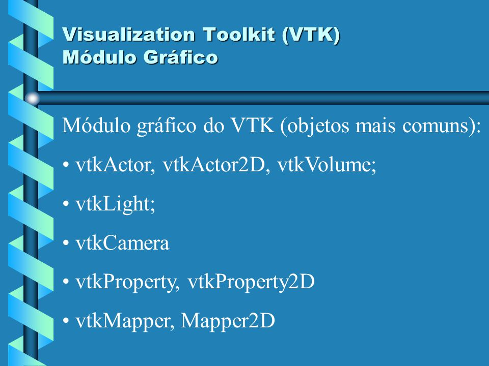 Visualization Toolkit (VTK) Módulo Gráfico