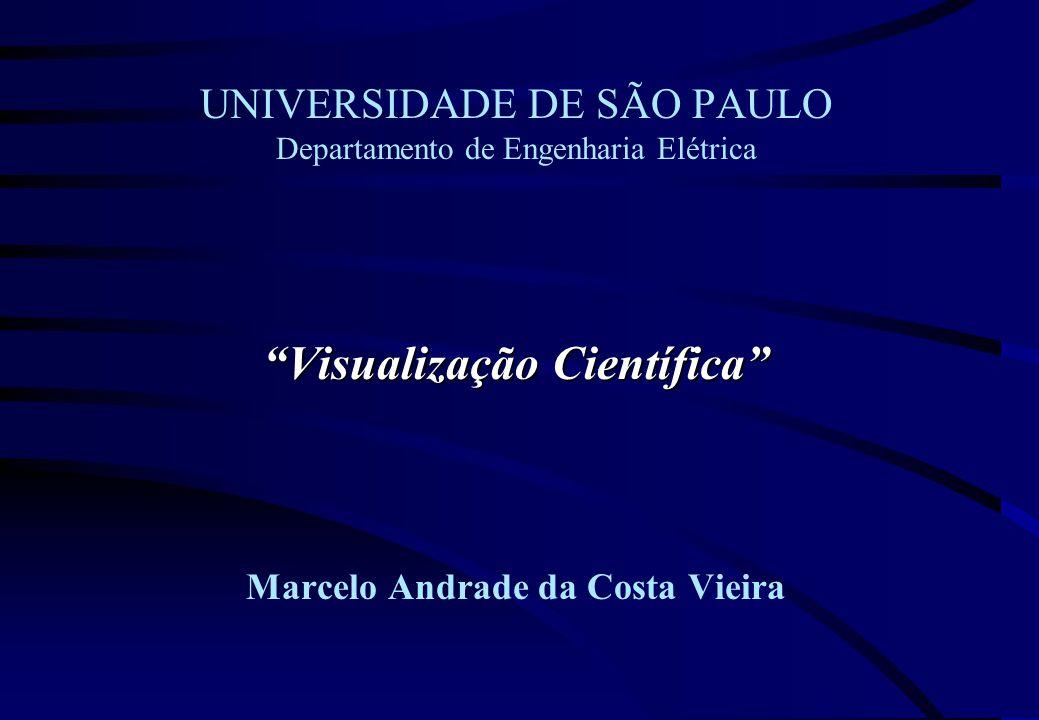 UNIVERSIDADE DE SÃO PAULO Departamento de Engenharia Elétrica Visualização Científica Marcelo Andrade da Costa Vieira