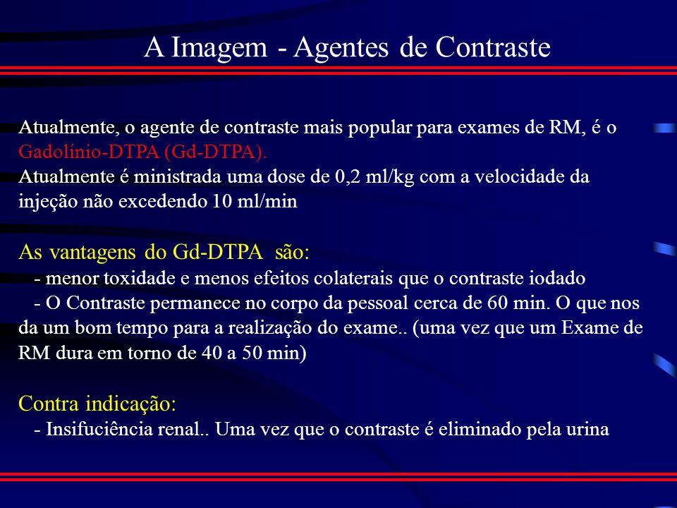 A Imagem - Agentes de Contraste