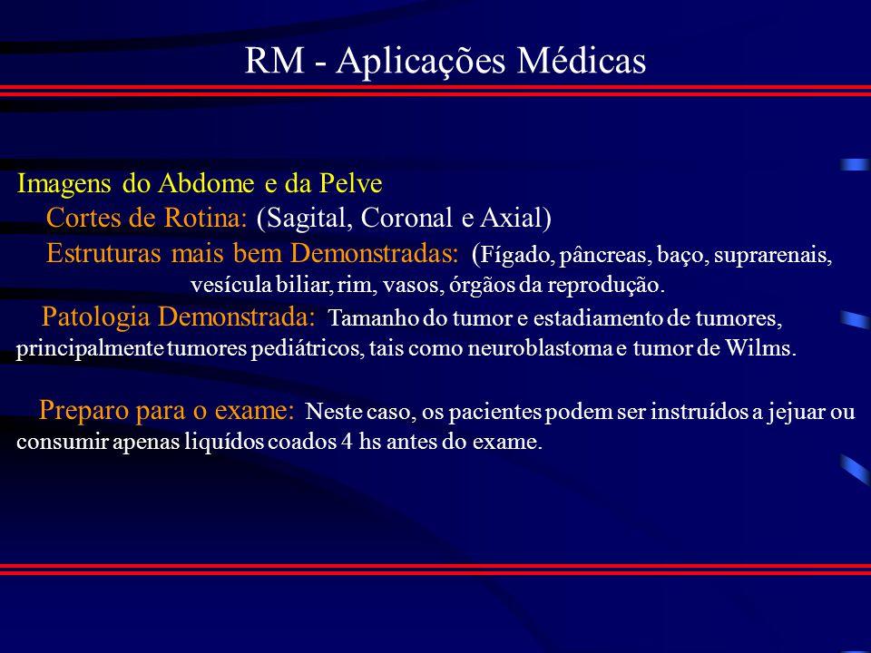 RM - Aplicações Médicas