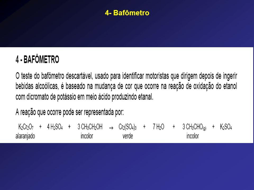 4- Bafômetro