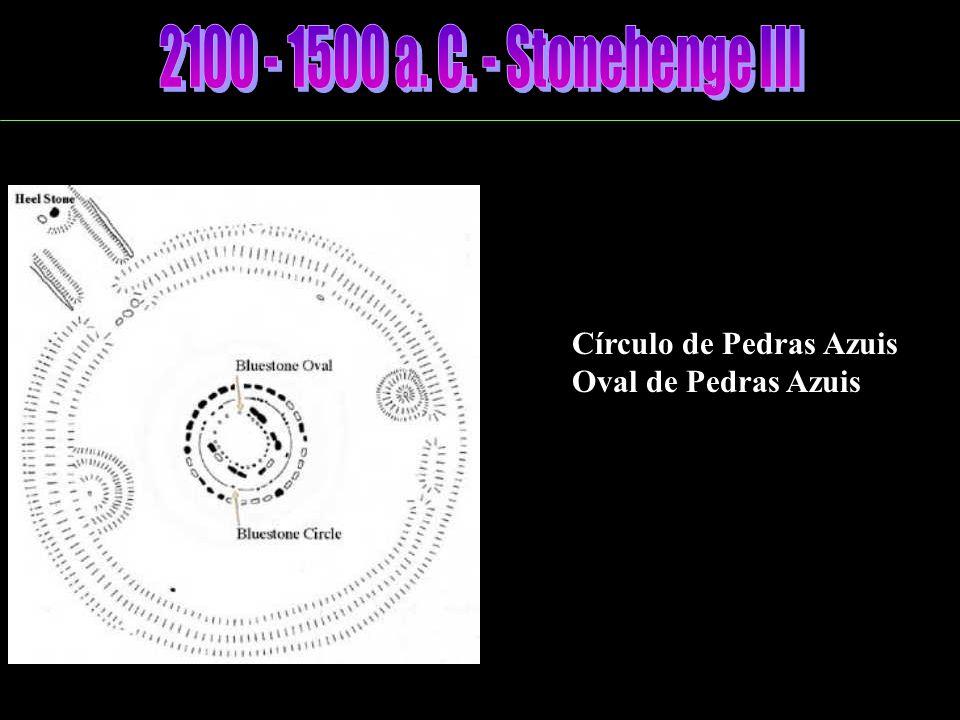 2100 - 1500 a. C. - Stonehenge III Círculo de Pedras Azuis