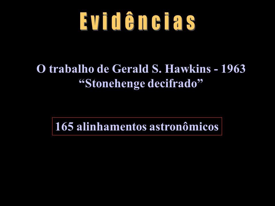 O trabalho de Gerald S. Hawkins - 1963 Stonehenge decifrado