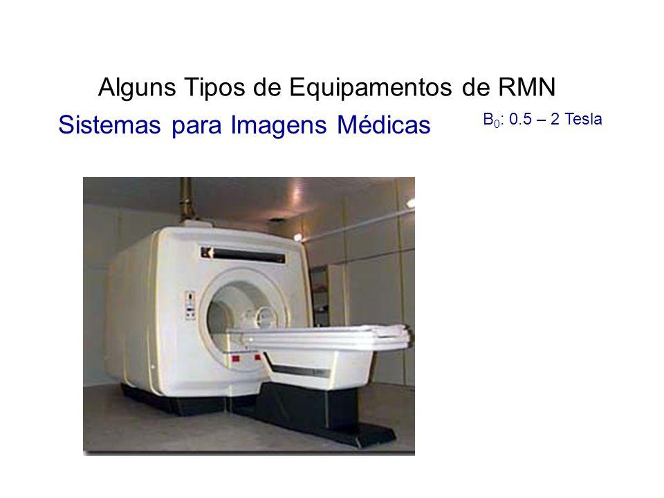 Alguns Tipos de Equipamentos de RMN Sistemas para Imagens Médicas