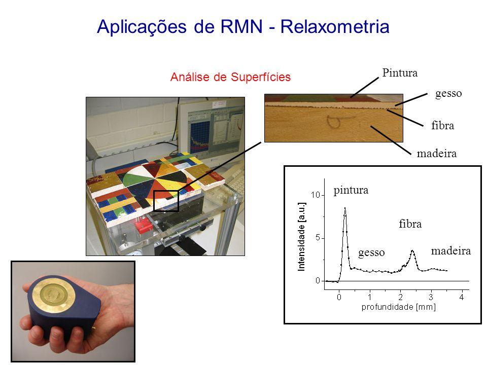 Aplicações de RMN - Relaxometria