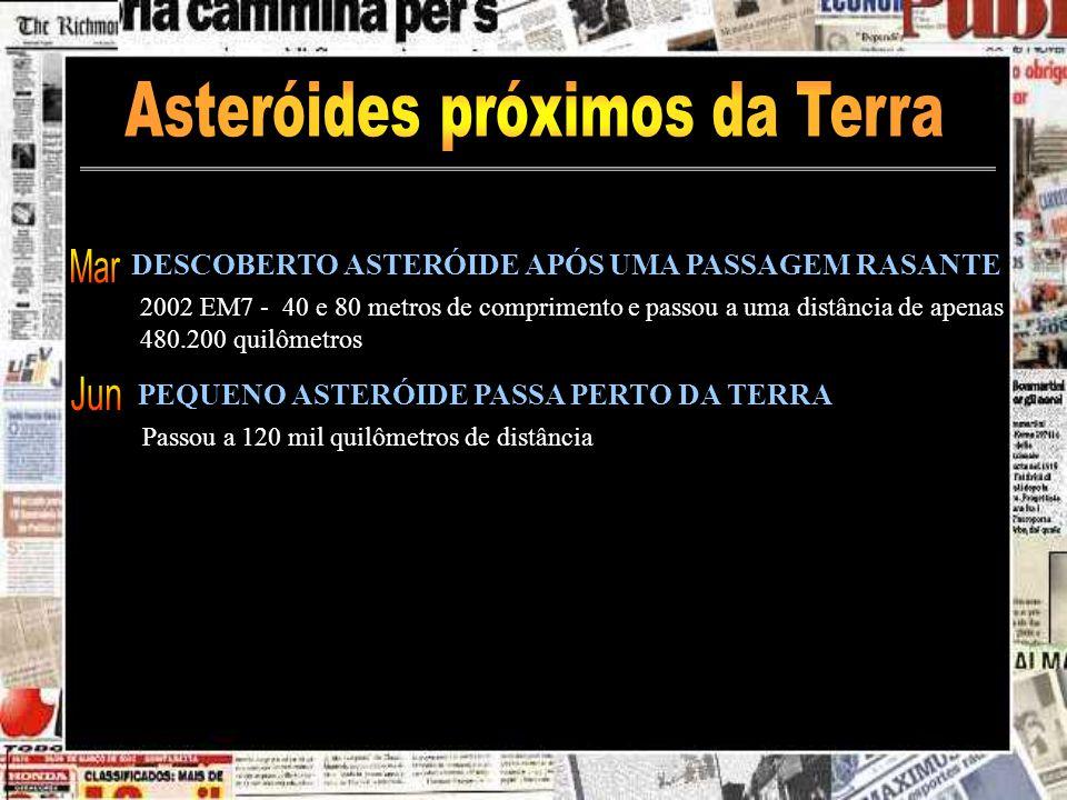 Asteróides próximos da Terra