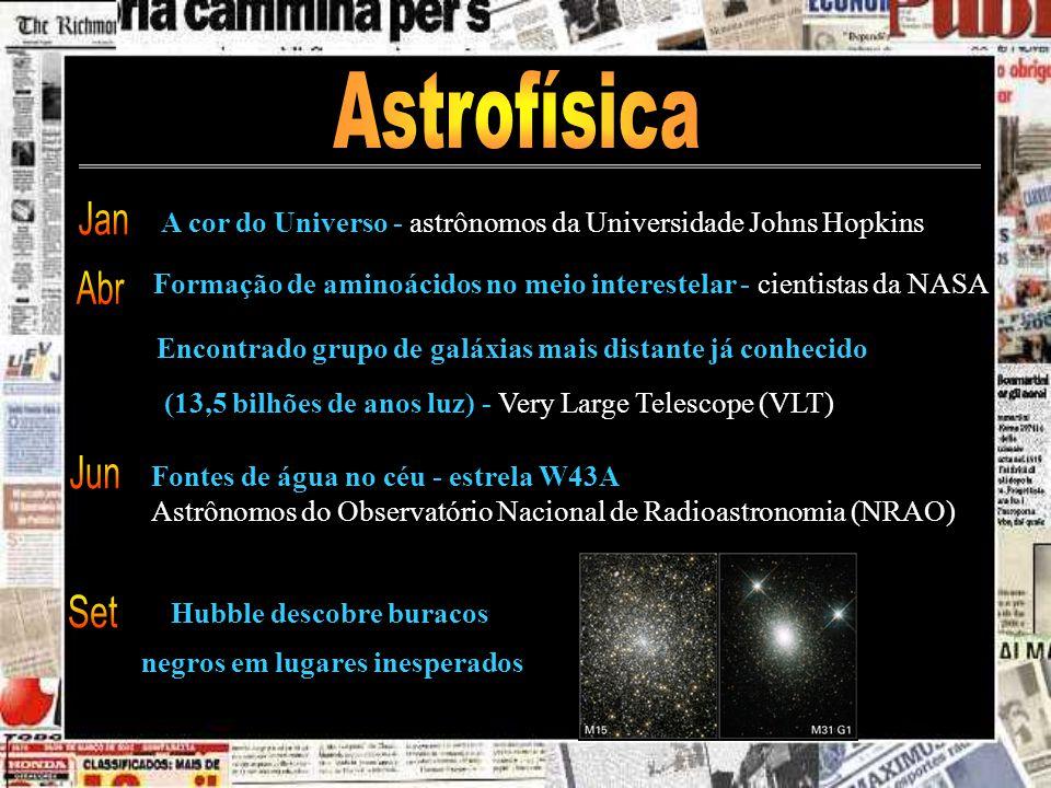 Hubble descobre buracos negros em lugares inesperados