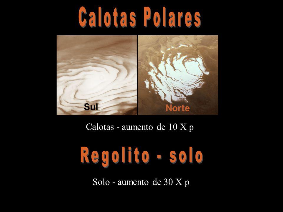 Calotas Polares Regolito - solo