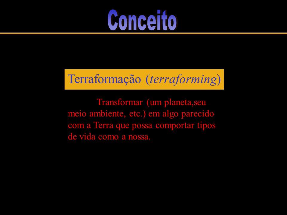 Conceito Terraformação (terraforming)