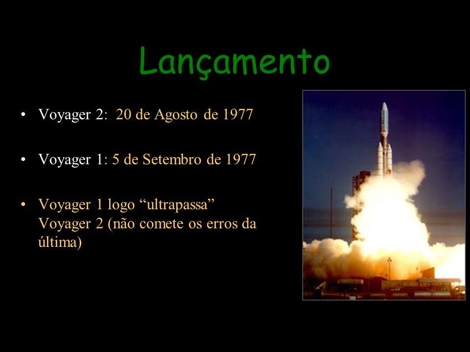 Lançamento Voyager 2: 20 de Agosto de 1977