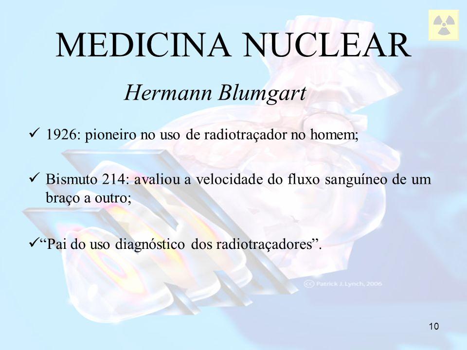 MEDICINA NUCLEAR Hermann Blumgart