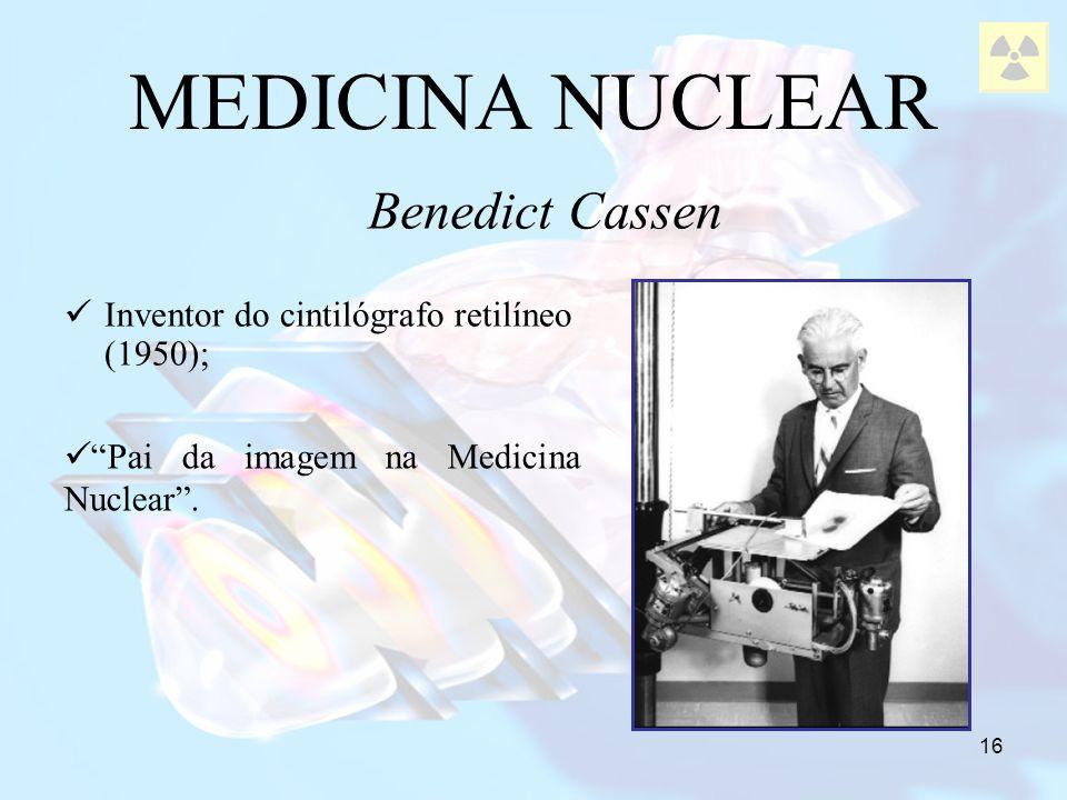 MEDICINA NUCLEAR Benedict Cassen