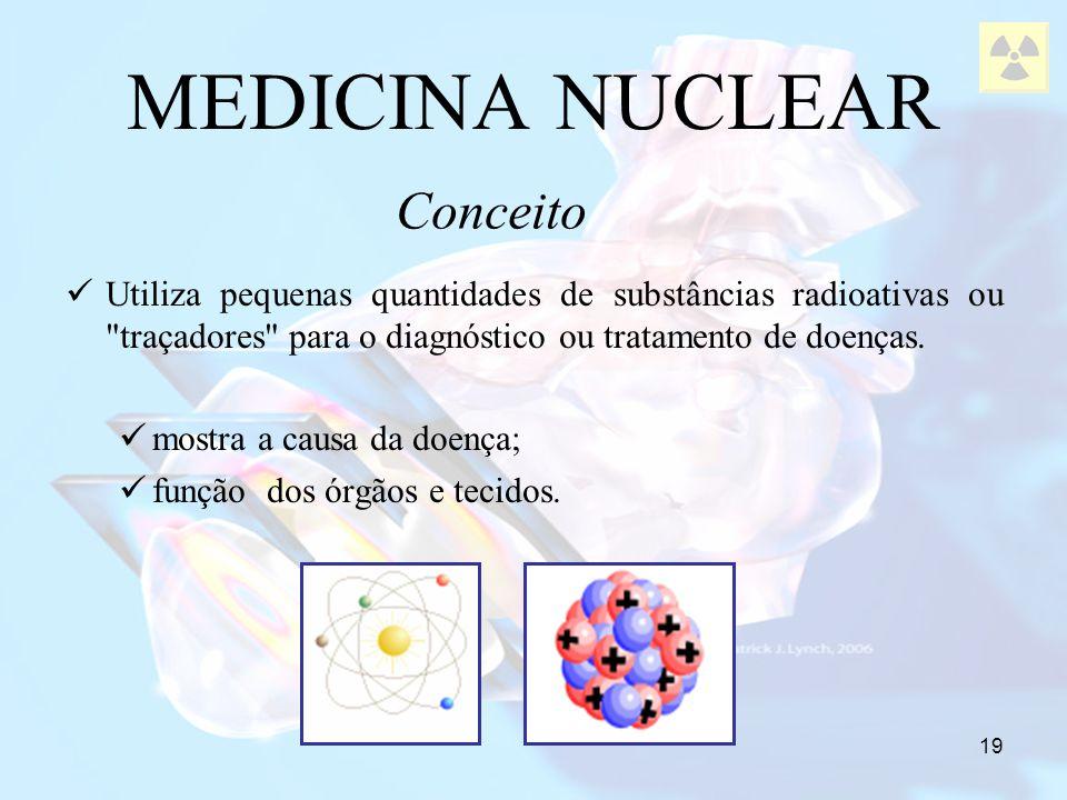 MEDICINA NUCLEAR Conceito