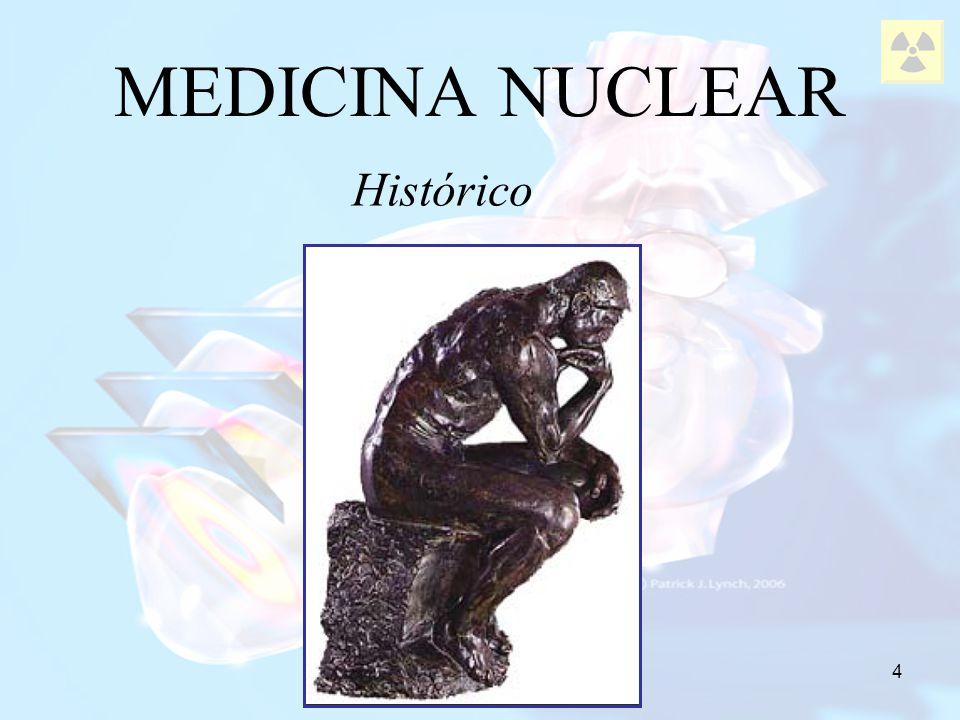 MEDICINA NUCLEAR Histórico