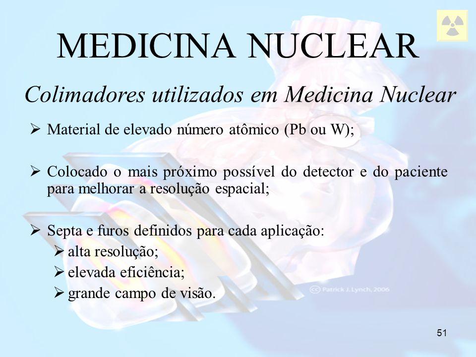 Colimadores utilizados em Medicina Nuclear