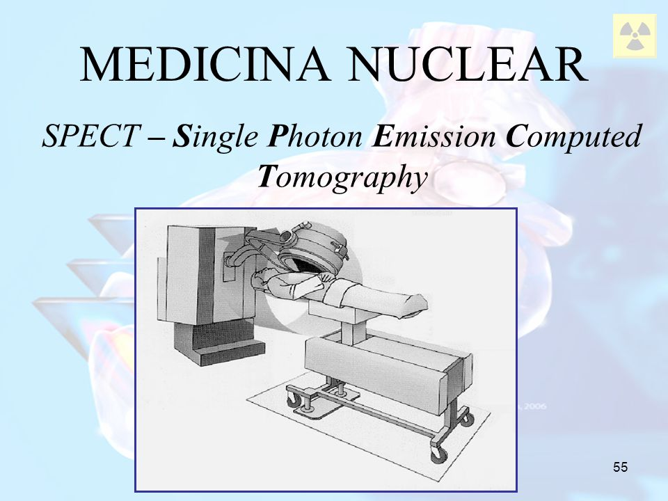 SPECT – Single Photon Emission Computed Tomography