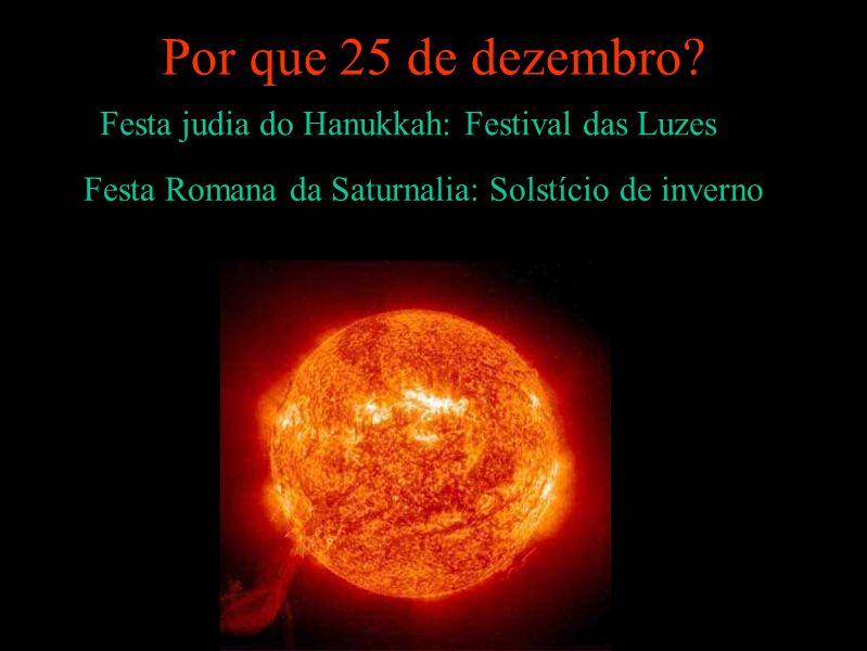 Por que 25 de dezembro Festa judia do Hanukkah: Festival das Luzes
