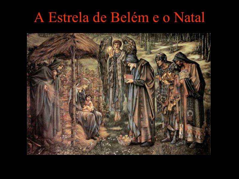 A Estrela de Belém e o Natal