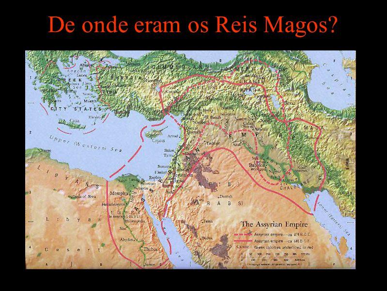 De onde eram os Reis Magos