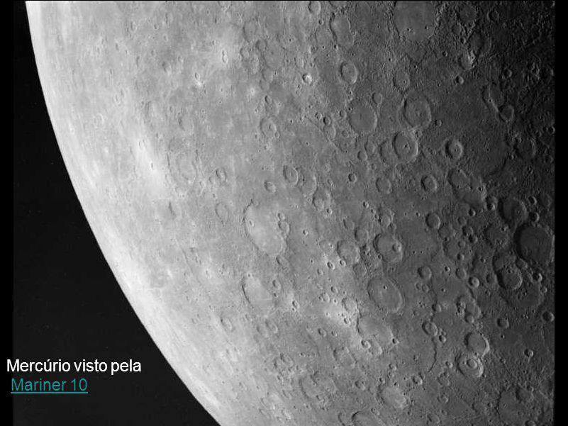 Mercúrio visto pela Mariner 10