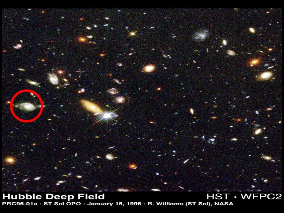Hoje sabemos que o Universo é muito maior que o Sistema Solar