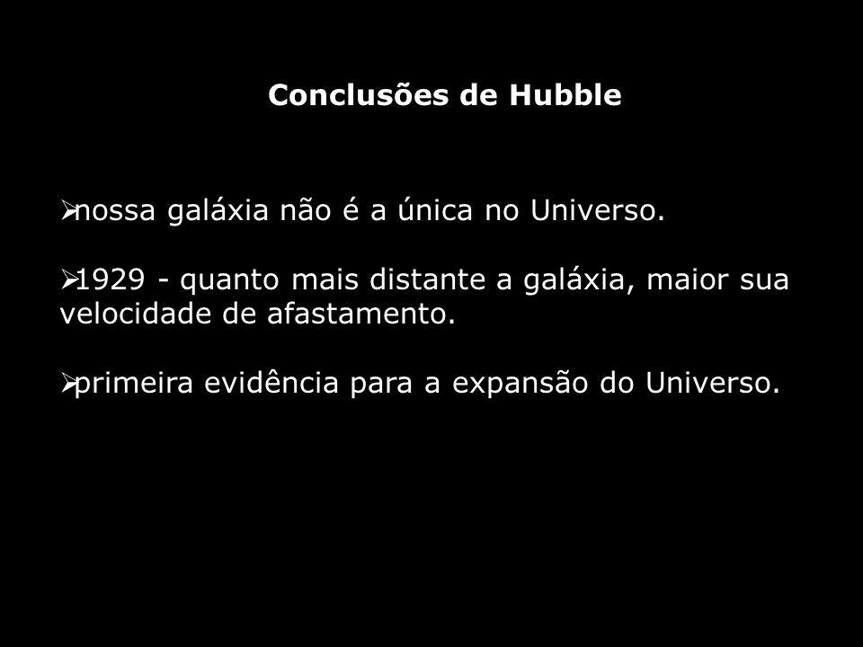nossa galáxia não é a única no Universo.
