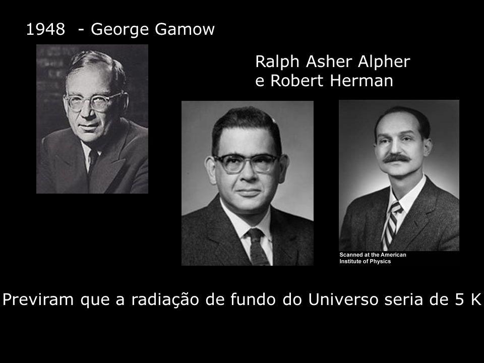 Previram que a radiação de fundo do Universo seria de 5 K