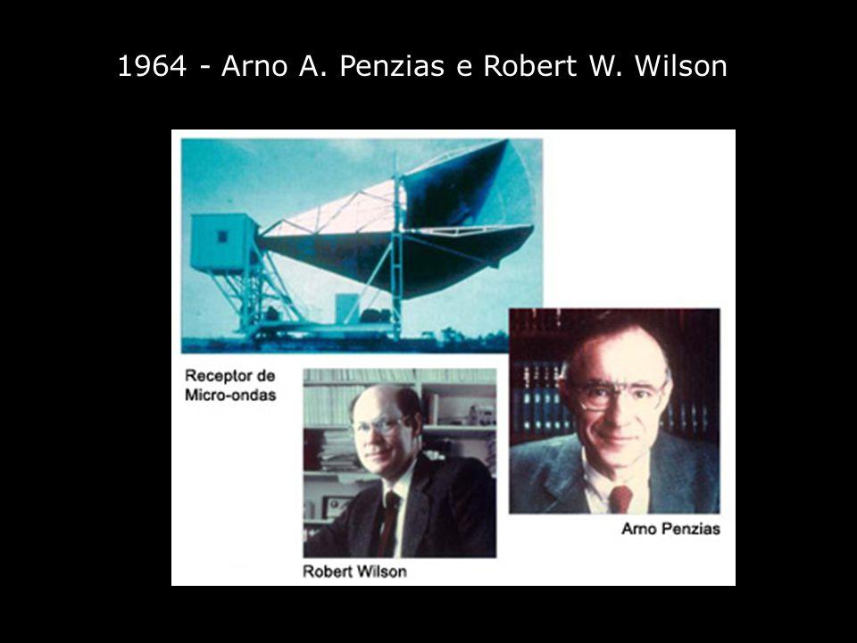 1964 - Arno A. Penzias e Robert W. Wilson