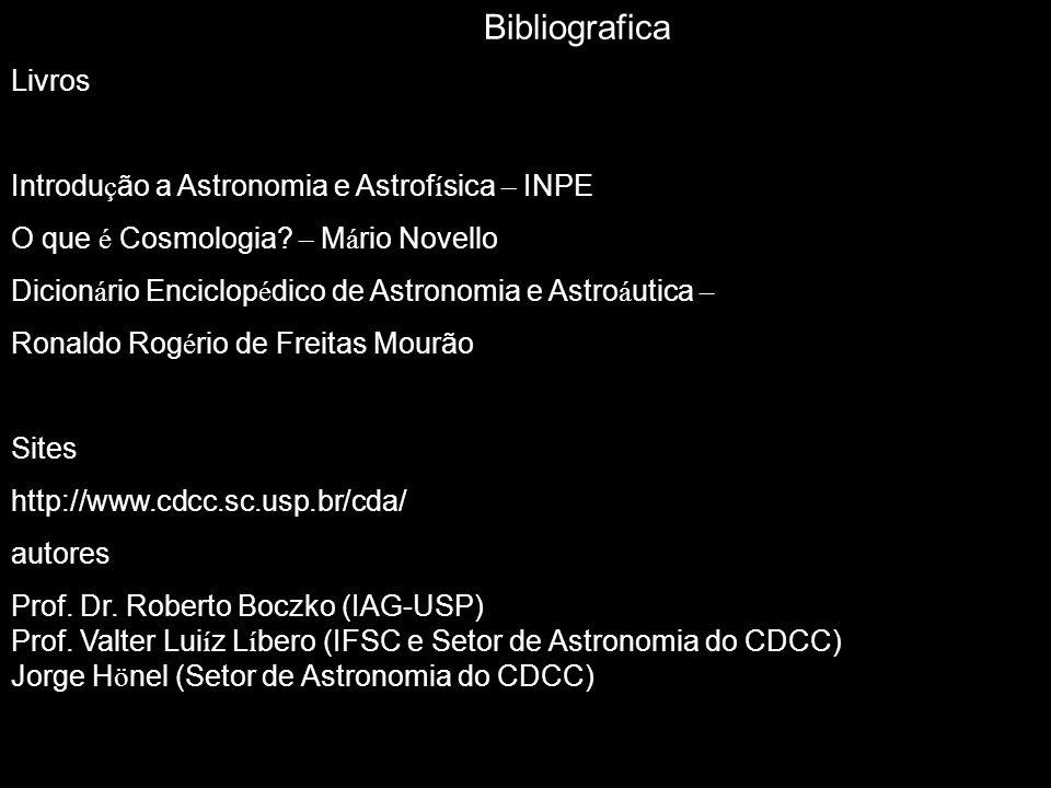 Bibliografica Livros Introdução a Astronomia e Astrofísica – INPE