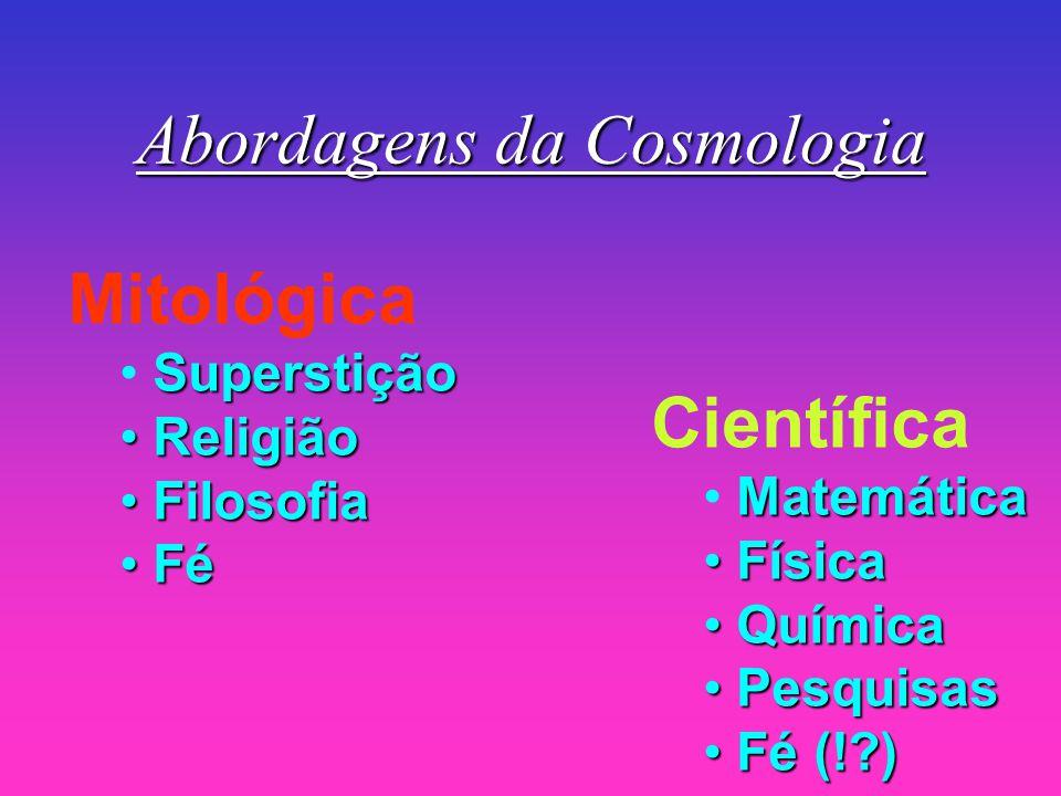 Abordagens da Cosmologia