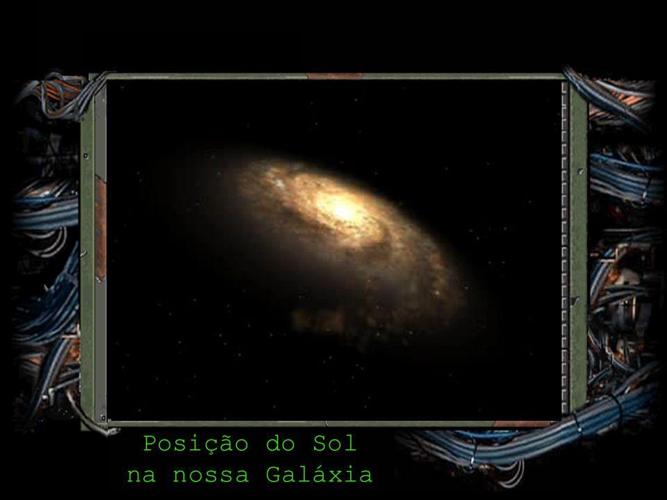 Posição do Sol na nossa Galáxia