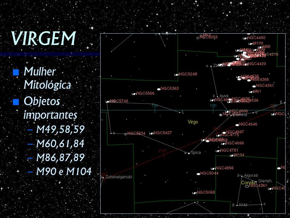 VIRGEM Mulher Mitológica Objetos importantes M49,58,59 M60,61,84