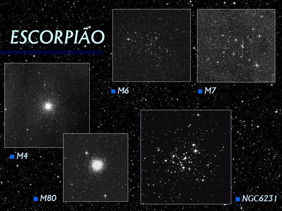 ESCORPIÃO M6 M7 M4 M80 NGC6231