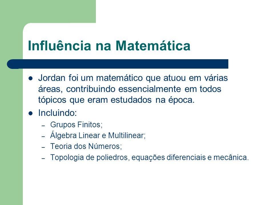 Influência na Matemática