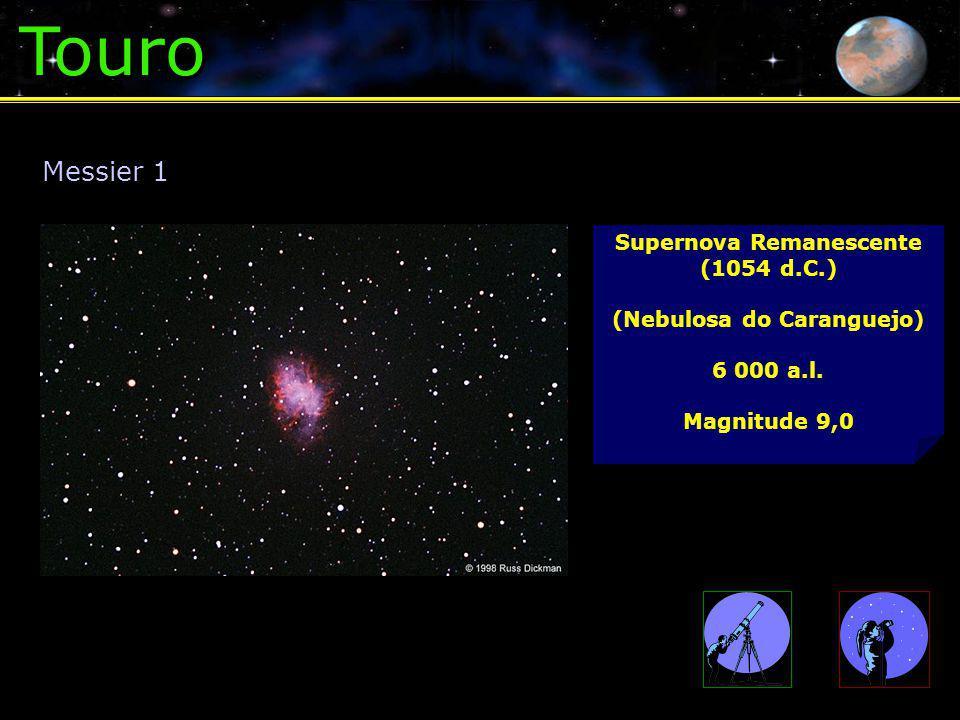 Supernova Remanescente (1054 d.C.) (Nebulosa do Caranguejo)