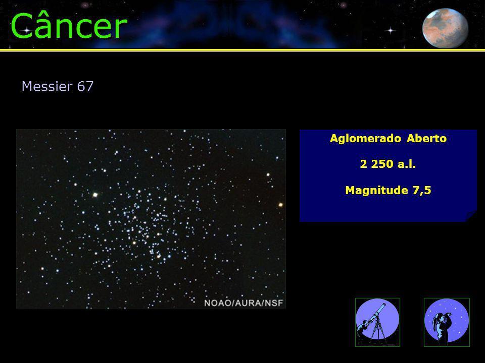 Câncer Messier 67 Aglomerado Aberto 2 250 a.l. Magnitude 7,5