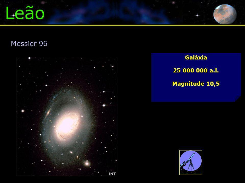 Leão Messier 96 Galáxia 25 000 000 a.l. Magnitude 10,5