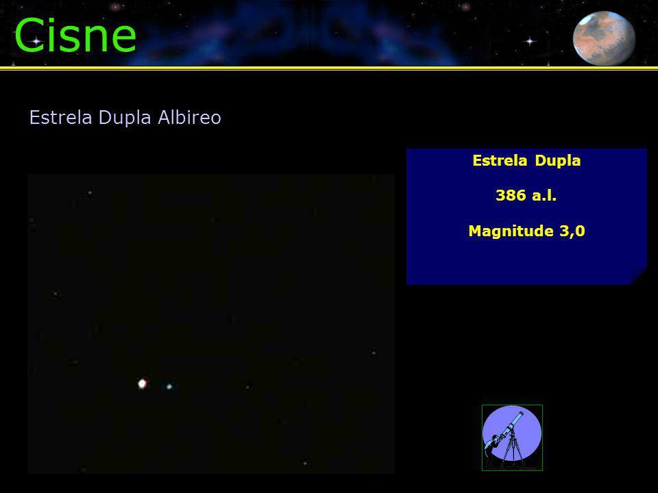 Cisne Estrela Dupla Albireo Estrela Dupla 386 a.l. Magnitude 3,0