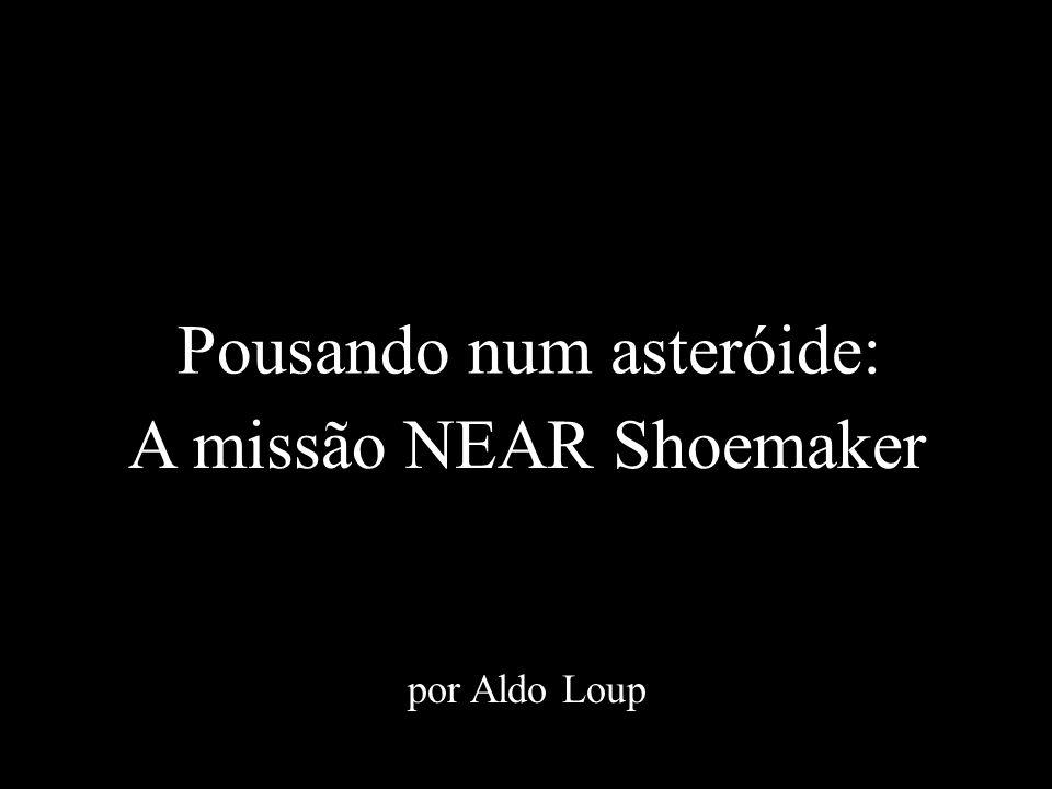 Pousando num asteróide: A missão NEAR Shoemaker