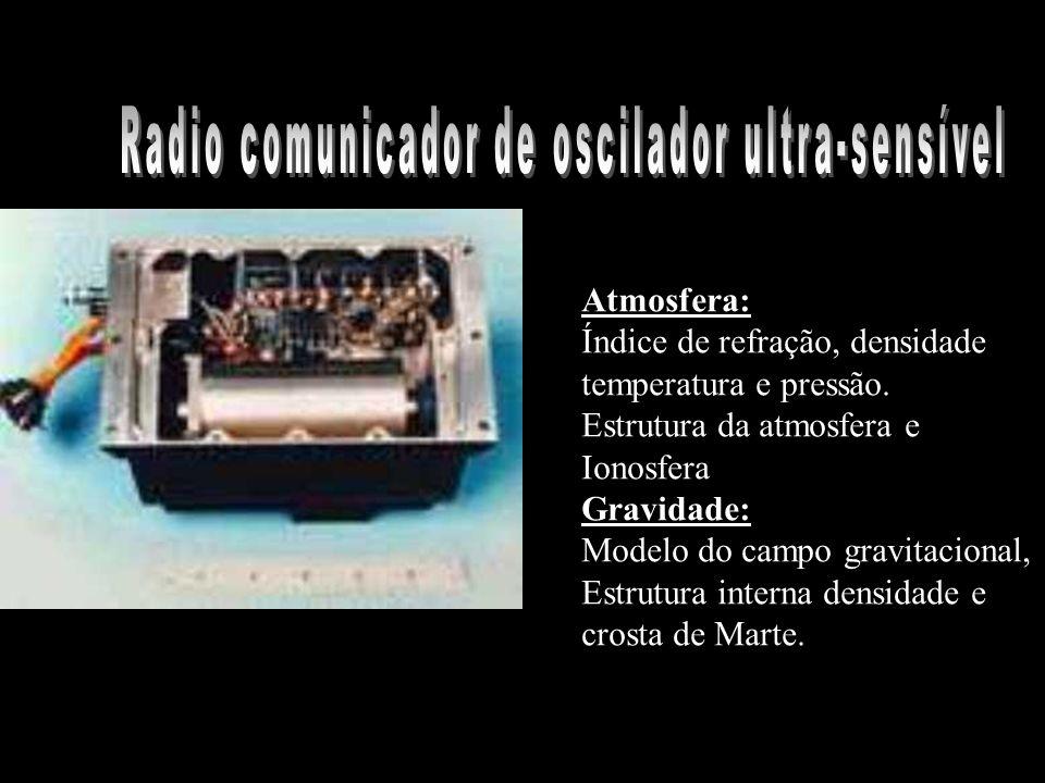 Radio comunicador de oscilador ultra-sensível